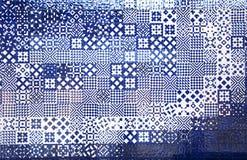 Аквариум Лиссабона кроет текстуру черепицей Стоковая Фотография