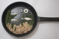 Аквариум сковороды Стоковые Изображения