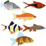 Аквариум fish-2 иллюстрация штока
