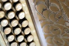 аккордеоня diatonic Стоковое Изображение