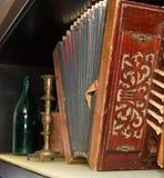 аккордеоня старая Стоковые Фотографии RF