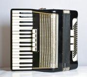 Аккордеон музыкального инструмента стоковые фото