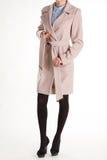 Аккуратные пальто и рубашка кашемира Стоковая Фотография