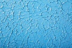 Акриловая голубая краска Стоковое фото RF
