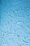 Акриловая голубая краска Стоковое Фото