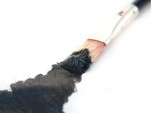 акриловая краска щетки Стоковые Изображения RF