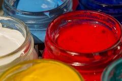 акриловая краска Стоковое Изображение RF