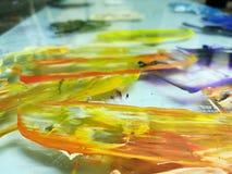 Акриловые цвета Стоковые Изображения