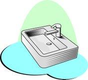 Акриловая ванна Стоковое Изображение RF