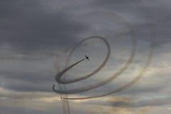 Акробатика воздушных судн Стоковая Фотография