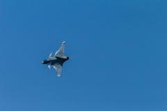 Акробатика летания бойца воздушных судн Стоковое Изображение