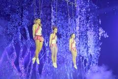 Акробатика качания актрисы 3 Стоковая Фотография