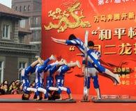 Акробатика Китая Стоковые Изображения RF