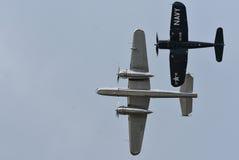 Акробаты воздуха Стоковые Фотографии RF