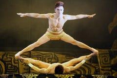 Акробаты Пекина Стоковое фото RF