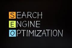 Акроним оптимизирования поисковой системы Стоковые Изображения RF