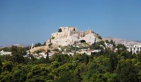Акрополь в Афиныы Стоковые Изображения