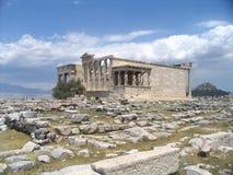 акрополь Греция Стоковое Изображение RF
