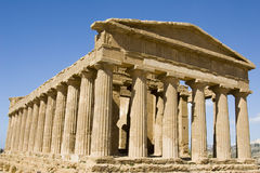 акрополь Сицилия стоковые фотографии rf