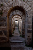 акрополь pergamon Стоковое Фото