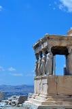 Акрополь, Афины Греция Стоковая Фотография