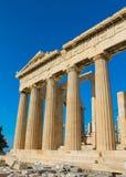 Акрополь Афин известный Стоковая Фотография RF