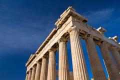 Акрополь в Афинах стоковое фото