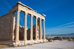 Акрополь в Афинах стоковая фотография