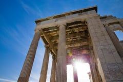 Акрополь в Афинах стоковые фото