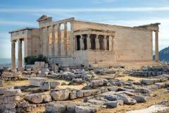 Акрополь в Афинах стоковые изображения