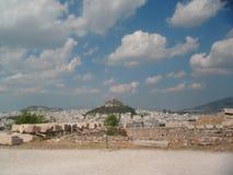 акрополь Стоковое Изображение