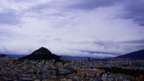 Акрополь Atena Grecia Стоковая Фотография RF