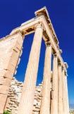 акрополь athens Греция Стоковое Изображение RF