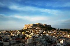 акрополь athens Стоковое Фото