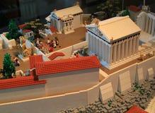 Акрополь Lego Стоковая Фотография RF