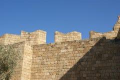 Акрополь Linods на месте Rhodos старом археологическом, Греции стоковое изображение rf