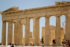 Акрополь Partenon Atenas Греции Стоковая Фотография