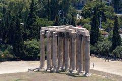 Акрополь Partenon Atenas Греции Стоковые Изображения RF