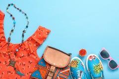 Аксессуары битника моды Стильное городское обмундирование Стоковые Фото