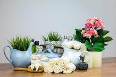 Аксессуары ванны детали гигиены личные Стоковые Изображения