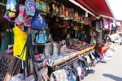 Аксессуары вышивки Китая национальные стоковая фотография rf