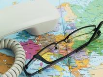 Аксессуары дела для бюро путешествий Стоковая Фотография RF