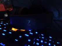 Аксессуары 004 игры - Razer/Rosewill стоковая фотография rf
