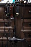 Аксессуары и инструменты парикмахера Стоковая Фотография RF