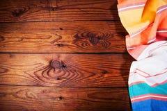 Аксессуары кухни на деревянной поверхности еда вареников предпосылки много мясо очень Стоковое Изображение