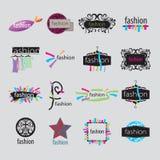 Аксессуары моды логотипов вектора Стоковое фото RF