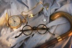 Аксессуары моды для людей Стоковая Фотография RF