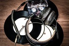 Аксессуары музыки Стоковая Фотография RF
