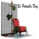 Аксессуары дня St. Patrick Стоковая Фотография