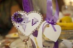 Аксессуары свадьбы Стоковая Фотография RF